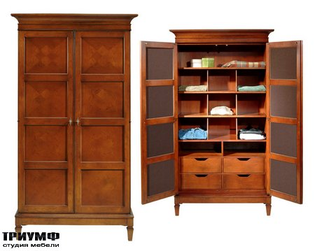 Американская мебель Harden - St. Regis Armoire