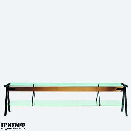 Итальянская мебель Driade - Низкий стол Fratello