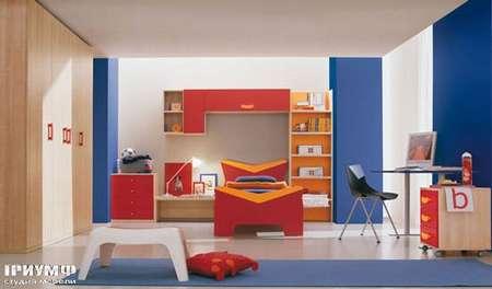 Итальянская мебель Julia - Композиция детской комнаты в стиле модерн, smail