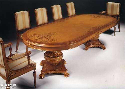Итальянская мебель Citterio Fratelli - Стол овальный Ginevra