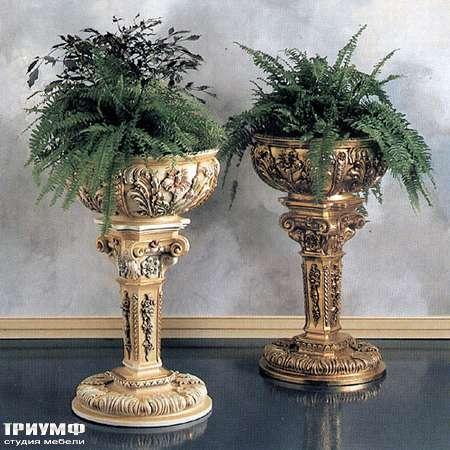 Итальянская мебель Silik - Вазоны под цветы из дерева