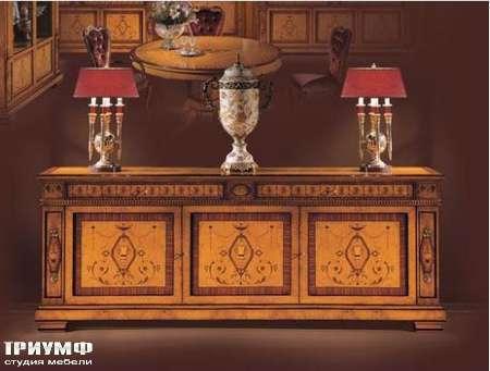 Итальянская мебель Ezio Bellotti - Комод 3-х дверный