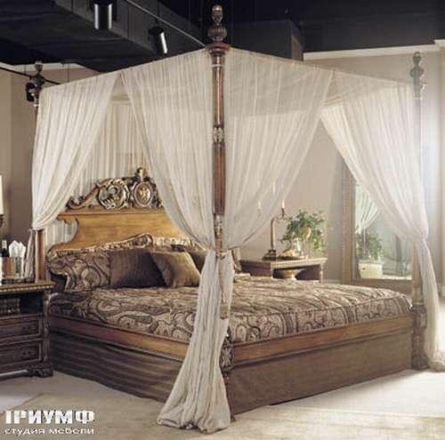 Итальянская мебель Francesco Molon - Кровать с балдахином
