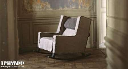 Итальянская мебель Baxter - Кресло-качалка Rocking Housse