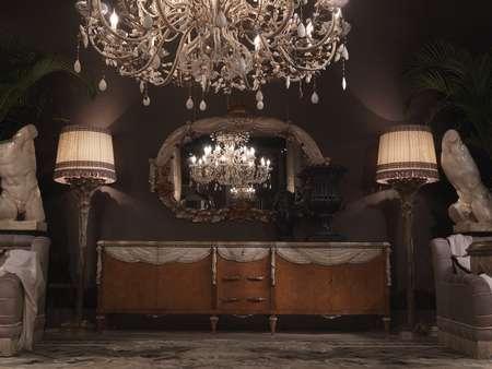 Итальянская мебель Jumbo Collection - Буфет коллекция Lace