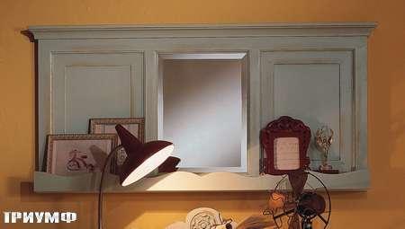 Итальянская мебель De Baggis - Зеркало с панелями RV 603