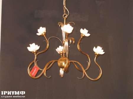 Освещение Eurolampart - Люстра с керамическими розами арт. 1071-06LA