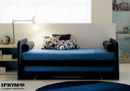 Итальянская мебель Di Liddo & Perego - Кровать Medium с двумя матрасами