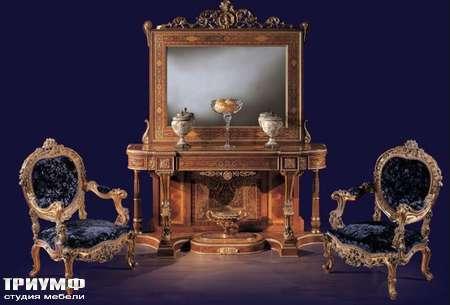 Итальянская мебель Ezio Bellotti - Консоль с зеркалом