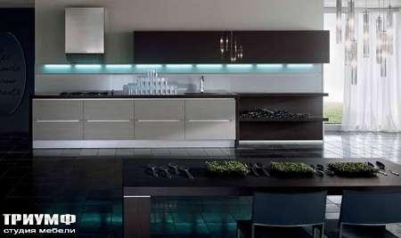 Итальянские кухни Pedini - Кухня Integra с подсветкой