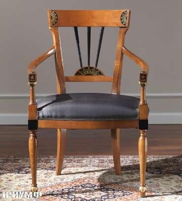 Итальянская мебель Colombo Mobili - Полукресло в имперском стиле арт.111.Р кол.Perosi