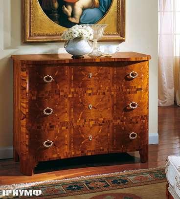 Итальянская мебель Colombo Mobili - Комод стиль Бидермайер арт.126 кол. Cimarosa