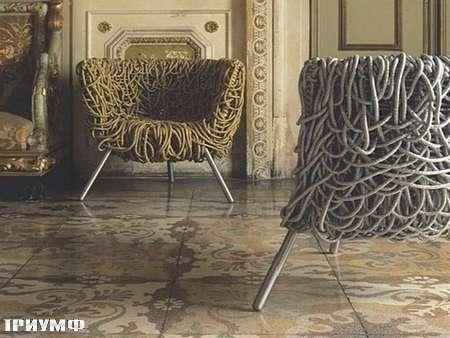 Итальянская мебель Edra - кресло Vermelha