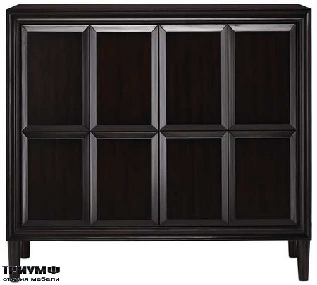 Американская мебель Currey and Company - Counterpoint Cabinet
