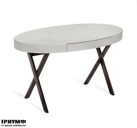 Американская мебель Interlude Home - Leonora Oval Desk