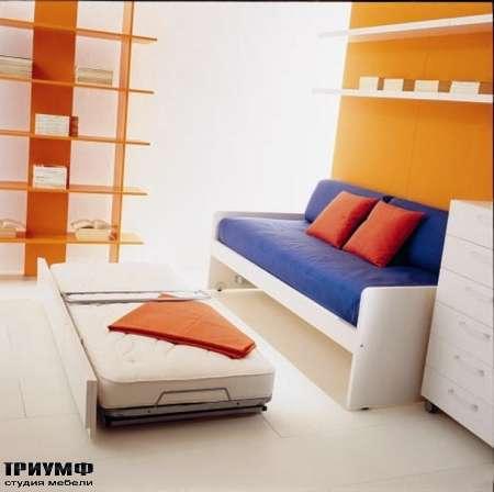Итальянская мебель Di Liddo & Perego - Диван Deep с выдвижной кроватью