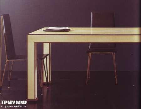 Итальянская мебель Rugiano - Стол Deco прямоугольный