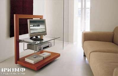 Итальянская мебель Longhi - тумба под TV 332 lcd