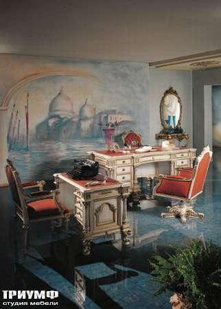 Итальянская мебель Silik - Письменный  стол Giove арт.9925