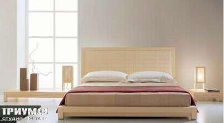 Итальянская мебель Rattan Wood - Коллекция Millennium кровать Culture