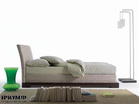 Итальянская мебель Orizzonti - кровать Andaman отделка ткань
