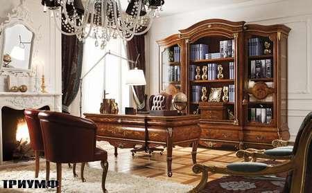 Итальянская мебель Grilli - Стол с радикой, витрина