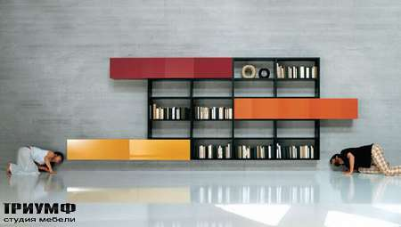 Итальянская мебель Lago - гостинная