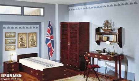 Итальянская мебель Caroti - Спальня капитана vecchia marina