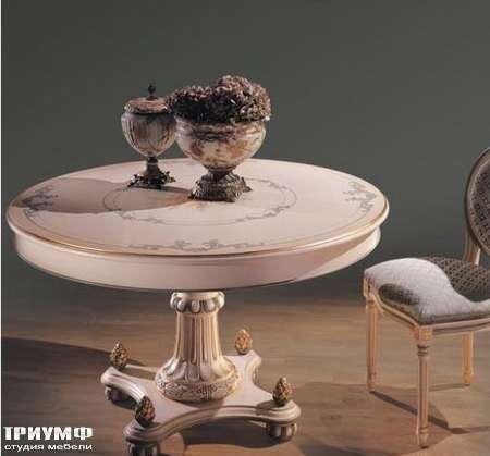 Итальянская мебель Ezio Bellotti - Стол обеденный круглый