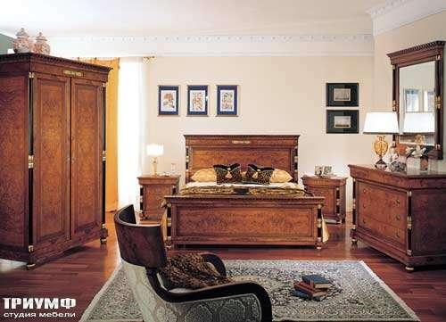 Итальянская мебель Francesco Molon - Кровать 2-х спальная
