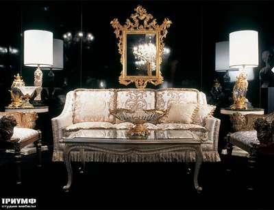 Итальянская мебель Zanaboni - Диван классический 3 местный
