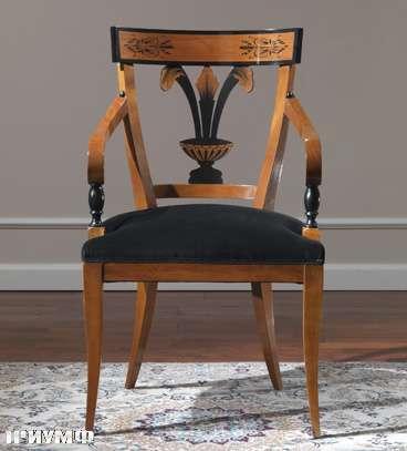 Итальянская мебель Colombo Mobili - Полукресло в стиле Бидермайер арт.139.Р кол. Rossini