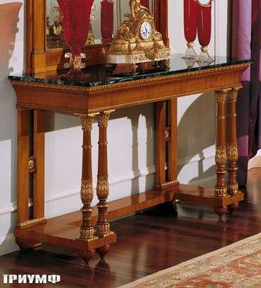 Итальянская мебель Colombo Mobili - Консоль в имперском стиле арт.319 кол. Salieri