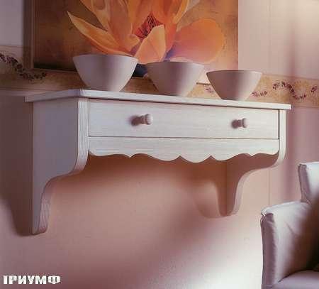 Итальянская мебель De Baggis - Консоль подвесная 20-815