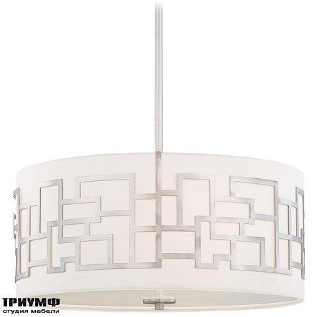 Американская мебель George Kovacs - 3 Light Pendant with Brushed Nickel finish