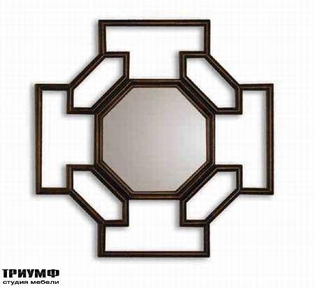 Итальянская мебель Chelini - Зеркало ар деко геометрическое арт.2050