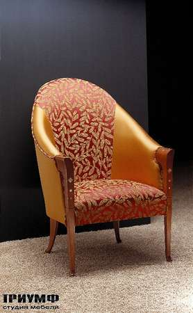 Итальянская мебель Carpanelli Spa - Кресло Pozzetto PO07