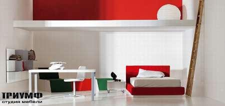 Итальянская мебель Pianca - Детская кровать Mia Imago и шкаф