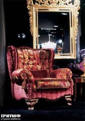 Итальянская мебель Zanaboni - Кресло Asia Bergere в ткани