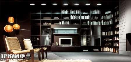 Итальянская мебель Map - Библиотека угловая Day Composition