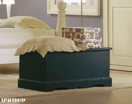 Итальянская мебель De Baggis - Скамья с ящиком