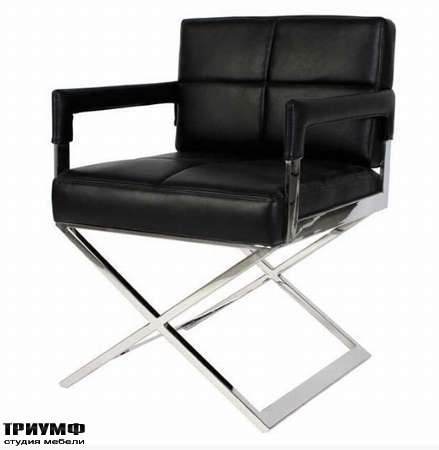 Голландская мебель Eichholtz - кресло desk cross
