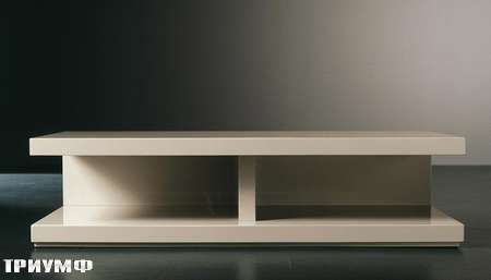 Итальянская мебель Meridiani - тумба под тв Clooney