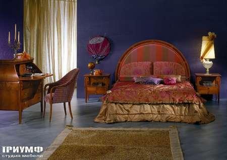 Итальянская мебель Carpanelli Spa - Кровать Arte Imbottito LE03
