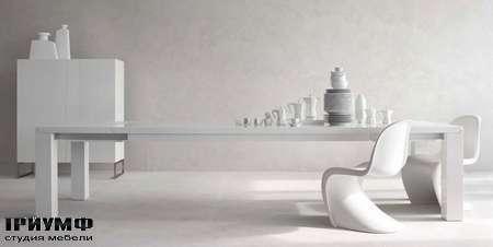 Итальянская мебель Olivieri - Стол прямогольный Ambrogio