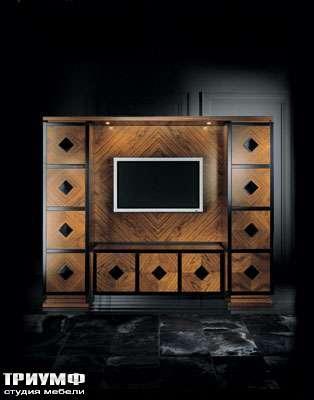 Итальянская мебель Smania - Стенка под тв Proteo tv