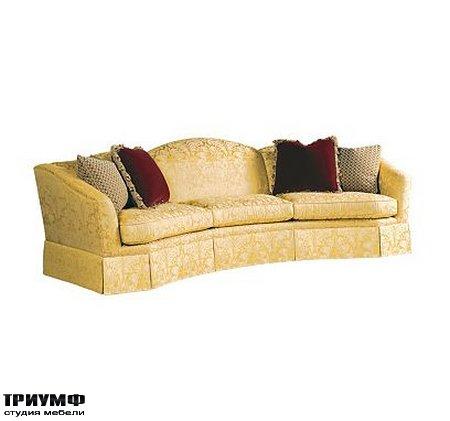 Американская мебель Henredon - Reflections Wedge Sofa