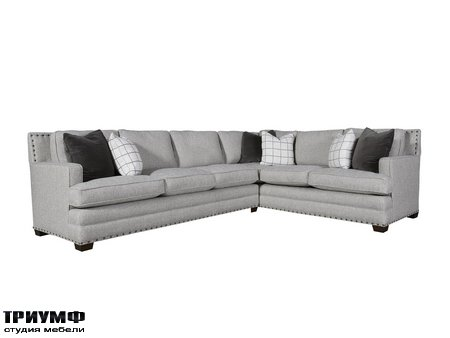 Американская мебель Universal Furniture - Riley Sectional Left Arm Sofa Right Arm Corner