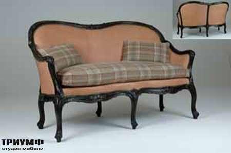 Итальянская мебель Chelini - Диванчик с подушками арт.1221