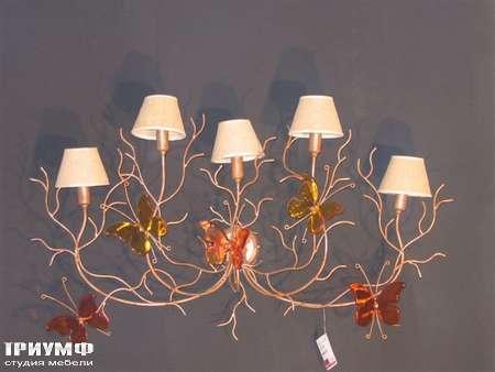 Освещение Eurolampart - Бра с бабочками, арт. 2373-05AP